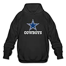 Dallas Cowboys Football Logo Hoodies For Men Black