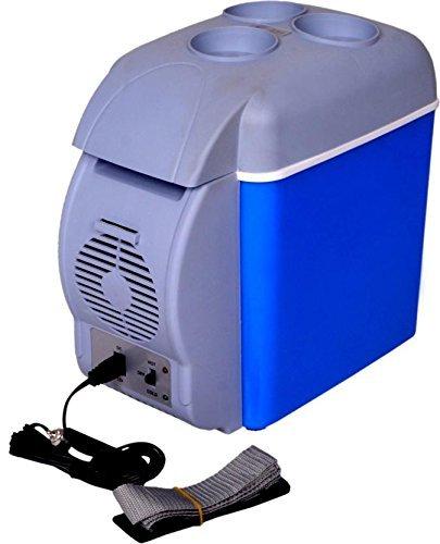 f0b1037fd Buy SKYFUN (LABEL) 12 V ABS Food Grade Plastic Fibre Multi-Function Mini  Portable Car Travel Refrigerator