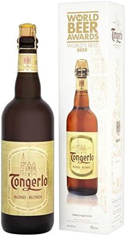 La mejor cerveza 2014 750ml de cerveza rubia Tongerlo Mundial de la caja de regalo: Amazon.es: Alimentación y bebidas
