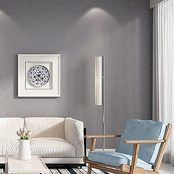 Ytmn Haokhome Moderne Solide Couleur Rouleaux De Papier Peint Gris