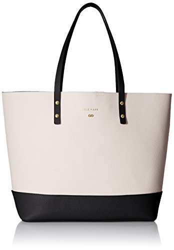 cole-haan-beckett-tote-ivory-black-color-block