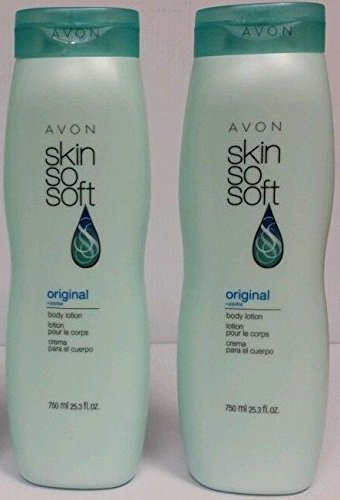 (Avon Skin so Soft Original (+Jojoba) Body Lotion, 25.3 Fl Oz (750 Ml))