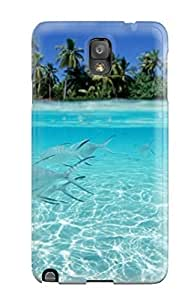 High Quality JudyRM Fishes Underwater On A Tropical Beach 3960 Skin Case Cover Specially Designed For Galaxy - Note 3