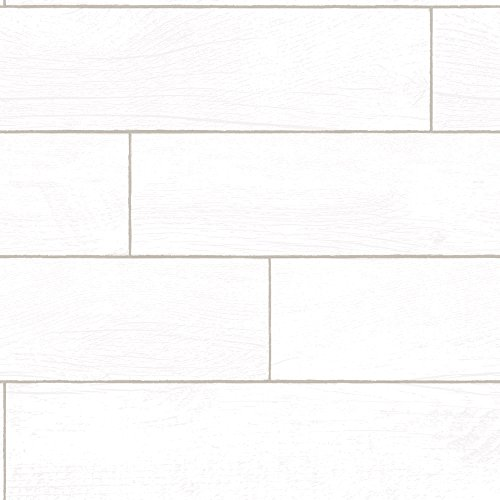 REPEEL RP492 Textured Shiplap Planks Wallpaper, 20.5