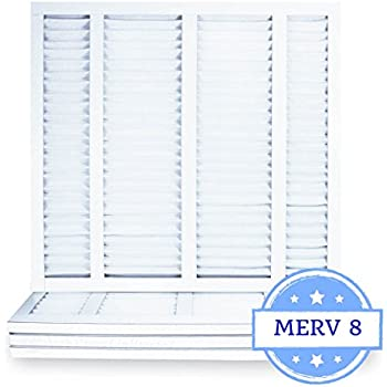 Amazon Com 21 1 2 X 23 5 16 X 1 Air Filter Pleated Merv