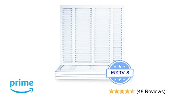 Amazon.com: 19 7/8 x 21 1/2 x 1 Air Filter, Pleated, MERV 8 (Case of on