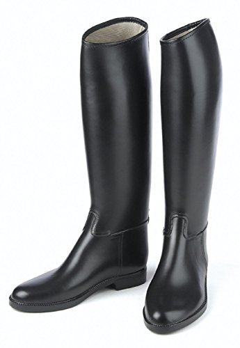 Mens Black Riding Boots - 2