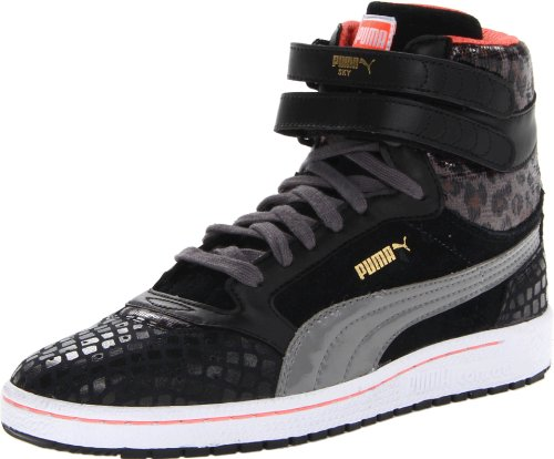Puma Donna Sky Ii Hi Animal Fashion Sneaker Nera
