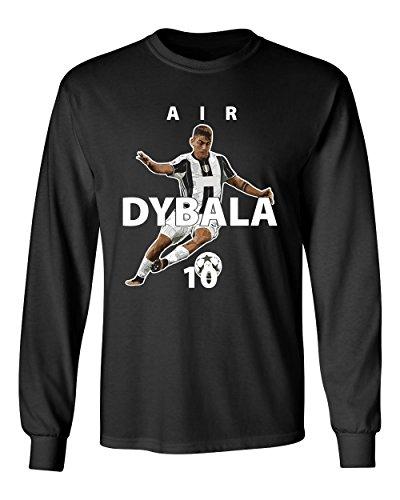 "Juventus Paulo Dybala ""Air Dybala"" Soccer Men's Long Sleeve T-Shirt – DiZiSports Store"