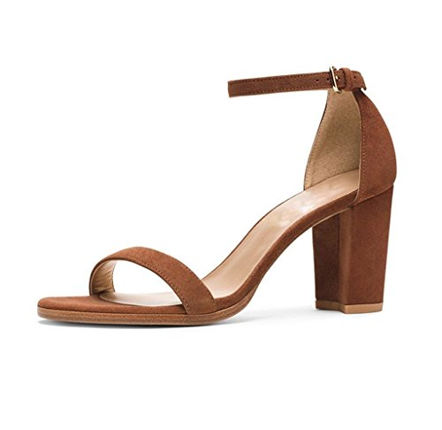 EDEFS - Tira de tobillo Mujer marrón