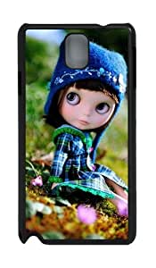 Super Dollfie PC Case and Cover for Samsung Galaxy Note 3 Note III N9000 Black