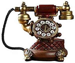 Tiamu Vintage Libro Teléfono Hucha Cerdito Decoración para