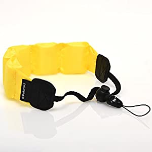 Polaroid Floating Flotation Wrist Strap (Yellow) For Underwater / Waterproof Cameras, Camcorders And Housings