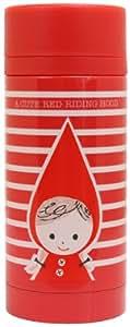 Taza del acero inoxidable Katoh Shinzi botella: Red Riding Hood 2 Diseño