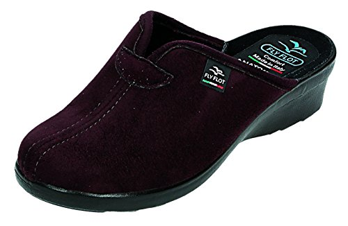 FlyFlot womens Slippers Plum size 40.0 EU