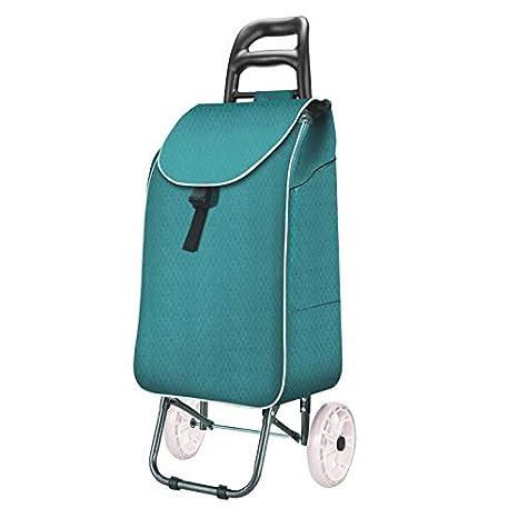 Volwco Sac /à provisions Trolley Sac /à provisions Pliable l/éger Sac de Toile imperm/éable Amovible
