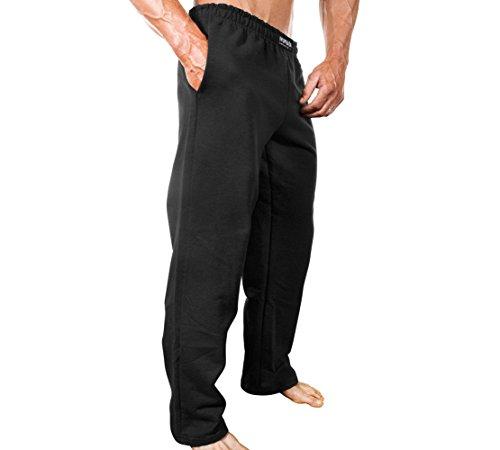 Monsta Workout Clothes:Gym Sweatpants Black