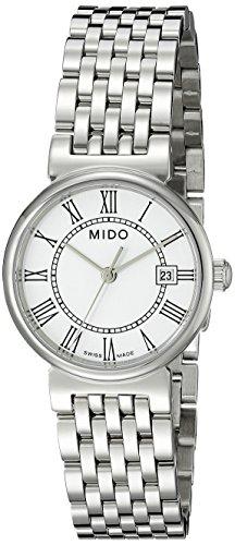 mido-womens-mido-m21304261-dorada-analog-display-quartz-silver-watch