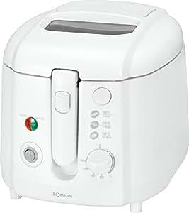 Bomann FR 2223 CB, Blanco, 230 V, 50 Hz - Freidora