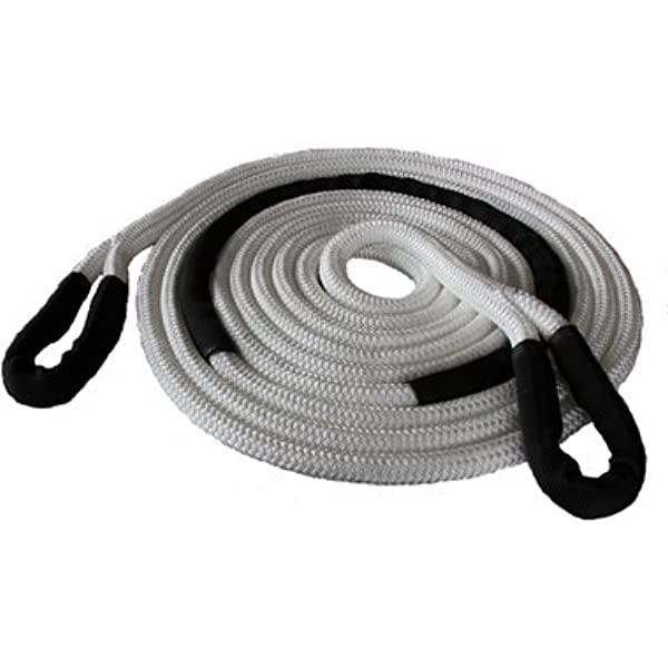FieryRed Kinetic Recovery Rope 20 ft x 7//8-18,700 Ibs Tow Rope with Carry Bag for Offroad 4x4// ATV//UTV//JEEP//Pickup