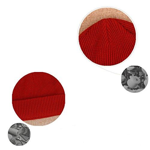 libre caliente Sombrero punto pelusa Versión de aire Gorro de Hombres AB Tejido Diamante coreana al marea Invierno Hilado Gris Plus la de lana Mantener Hedging ppqg6R