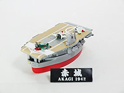 Capsule Toy AOSHIMA Deformat Combined-Fleet Vol 2 WWII Japan Imperial Navy Aircraft Carrier AKAGI 1942