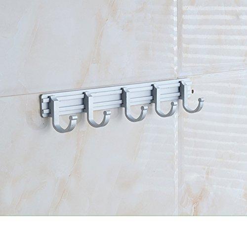 60%OFF Space aluminum bathroom hooks/Bathroom racks/Towels hanging/ bathroom hooks-I