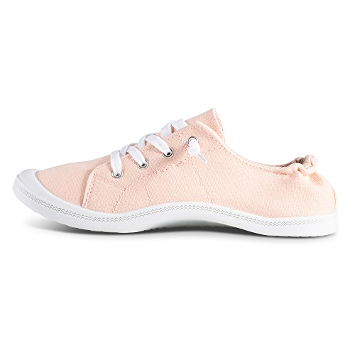 Slip Sneakers On Canvas Womens Blush Twisted Andrea ZqSwRH