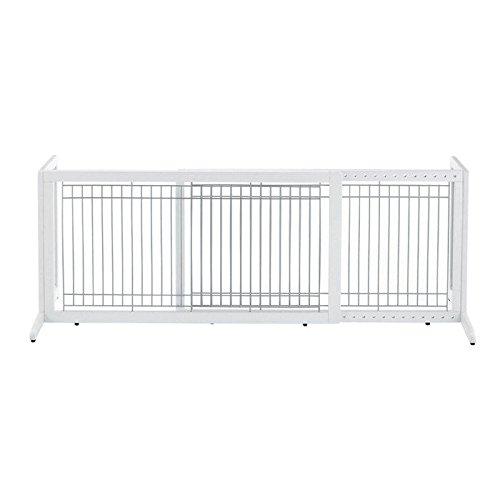 Freestanding Hardwood Dog Gates
