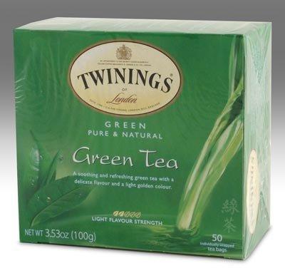 Twinings Thé vert Twining Sacs - 50 ct