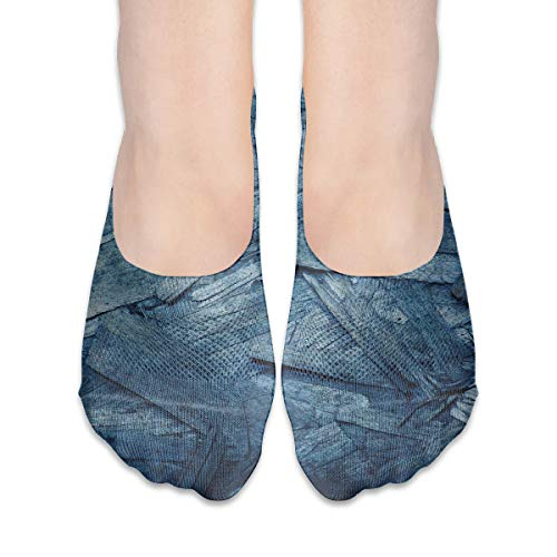 Used, No Show Low Cut Casual Socks Template Plywood Texture for sale  Delivered anywhere in Canada