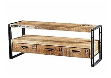 Design Vintage Industrial Loft Style Tv Board New York Tv Rack