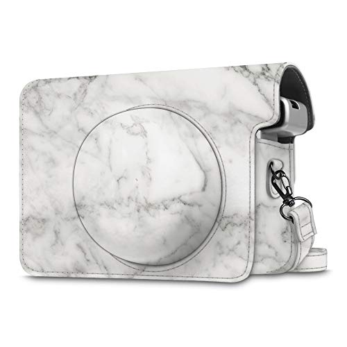 Fintie Protective Case Compatible with Fujifilm Instax Wide 300 Instant Film Camera, Marble by Fintie