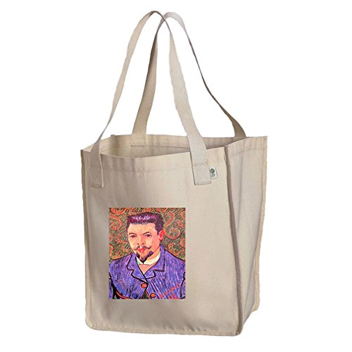 Portrait Paul Eugène Millie (Van Gogh) Organic Cotton Canvas Market Tote - Shopping Eugene Or In