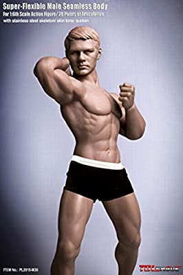 """JIAOU DOLL 1//6 Male Flexible Body Model Strong Muscle 12/"""" Seamless Figure Action"""