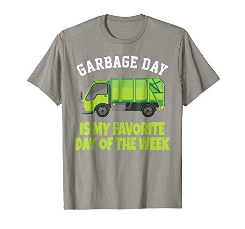 Garbage Day Truck T-Shirt - Waste Disposal Dumpster Tee