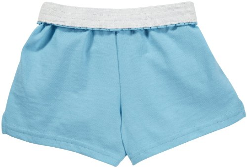 Soffe Girls Youth Authentic  Short,Light Turquoise, MD - 8/10