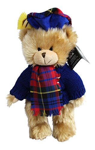 Ronnie Hek Hamish Scottish Tartan Teddy Bear