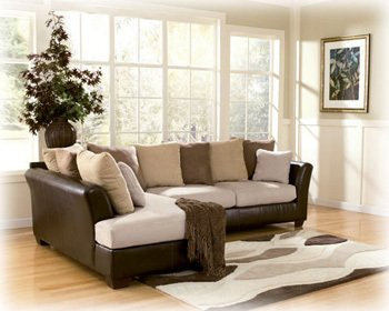 Amazoncom Logan Stone Sectional By Ashley Furniture Kitchen