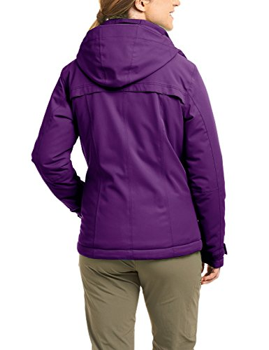 maier sports Mujer Chaqueta Lisbon morado - Dark Purple