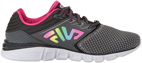 Fila Womens Memory Multiswift 4 Running Shoe Monument / Dark Shadow / Multi