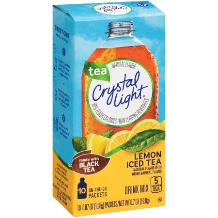 Crystal Light Iced Tea on the Go with Lemon (Pack of 14)