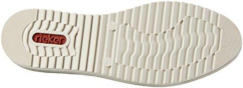 Rieker M5530, Botines para Mujer Gris (Carbon/mogano)