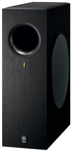 Yamaha NS-SW210BL Advanced YST II Subwoofer (Black) by Yamaha