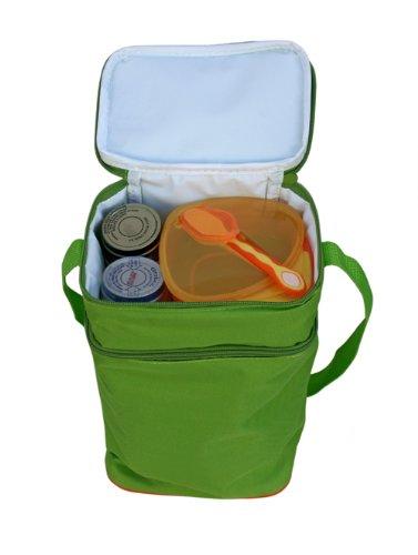 JL Childress Refrigerador con 6-Botella Capacidad para reci/én nacido azul//verde