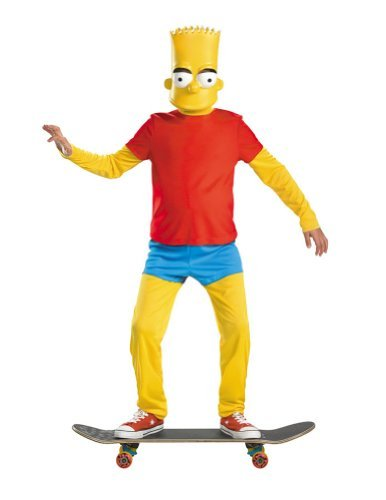 Bart Simpson Deluxe Costume - Large -