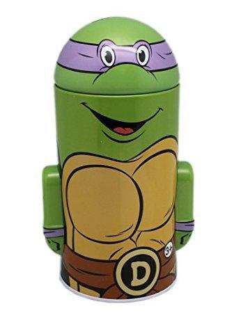 Teenage Mutant Ninja Turtles Donatello Tin Coin Bank (Ninja Turtle Piggy Bank Donatello compare prices)