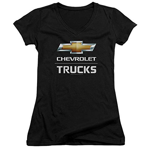Femmes Générique V Black Col T Jeunes Pour En shirt Chevrolet À qxOZwqfz