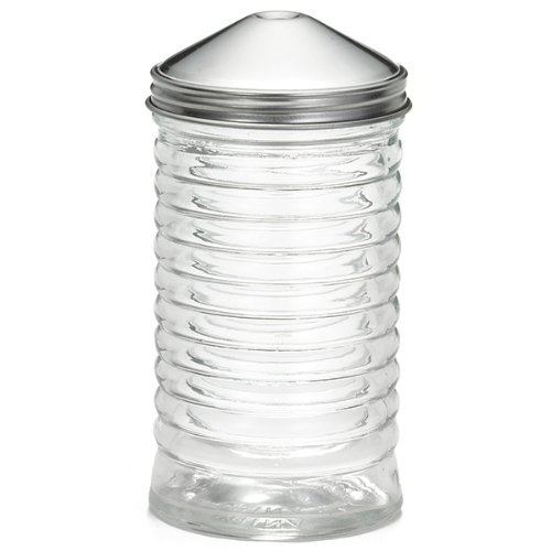 Beehive Glass Sugar Pourer with Centre Pour Top 12oz | Sugar Dispenser, Sugar Holder TableCraft