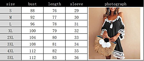 Robes Casual Style Robe Bretelles Halter Summer Noir Mini Frange Hellomiko Femmes Beach Bohme yt06W4qww5